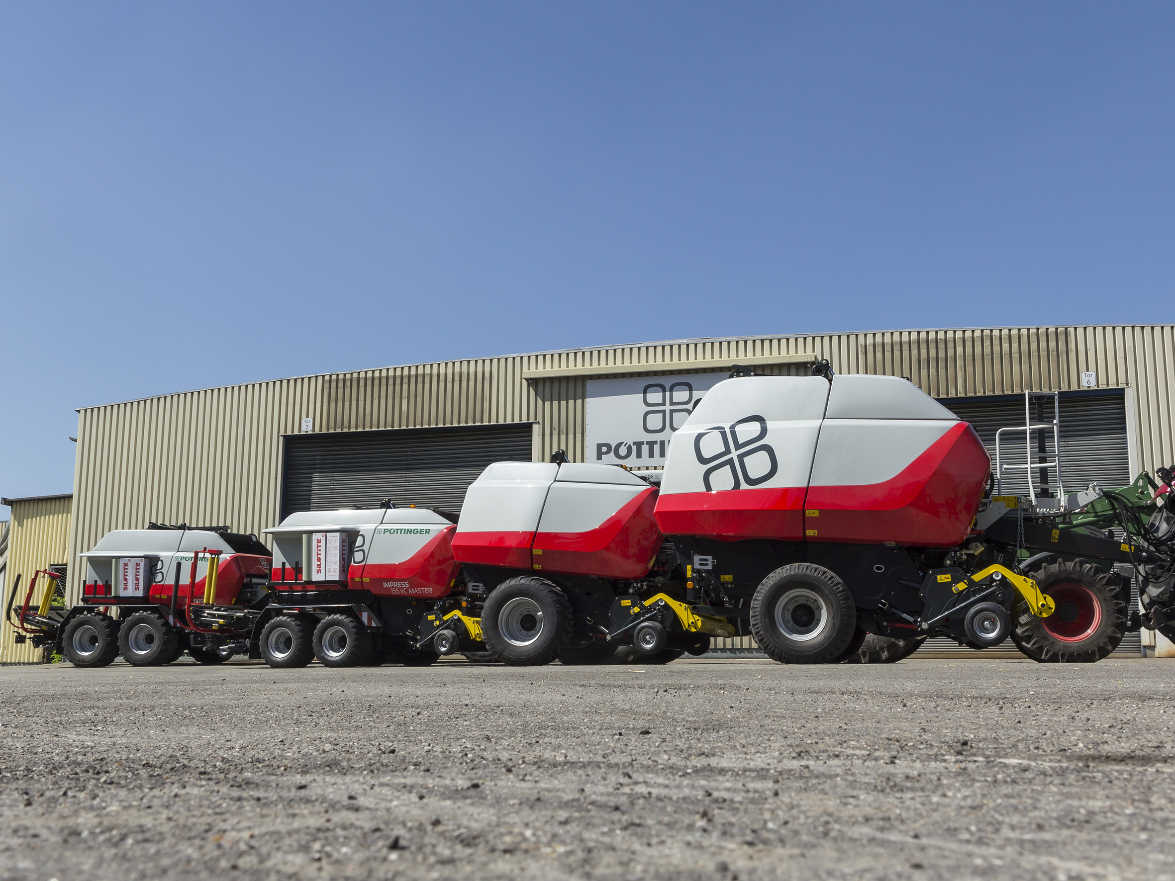 Pottinger Grassland Impress Balers